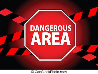 pericoloso, zona