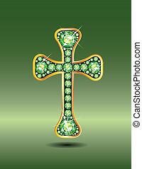 peridot, キリスト教徒, 交差点, 金