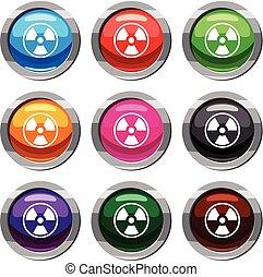 perigo, nuclear, jogo, 9, cobrança