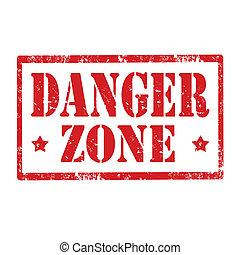 perigo, zone-stamp