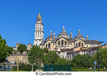 Perigueux Cathedral is a Catholic church located in the city of Perigueux, France. A cathedral since 1669, it is dedicated to Saint Front