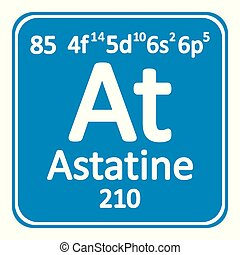Astatine vector clipart royalty free 2 new images added for april periodic table element astatine icon periodic table urtaz Gallery