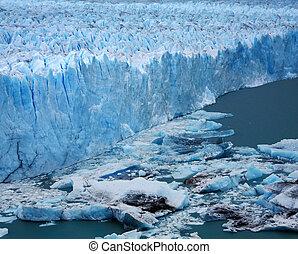 perito, glaciar de moreno, argentina