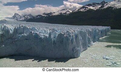 Perito Moreno glacier in El Calafate place, Argentina