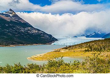 Perito Moreno Glacier in the Argentinian Patagonia