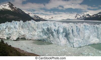 """""""Perito Moreno"""" glacier. Sequence - """"Perito Moreno"""" glacier,..."""