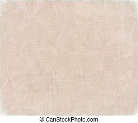 Periwinkle flower print on pink
