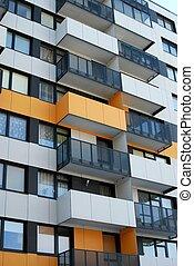 perkunkiemis, residencial, bloco