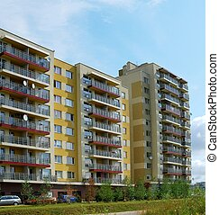 Perkunkiemis residential block - new view of Vilnius
