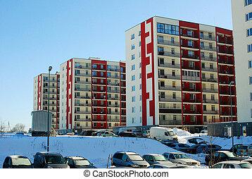 Perkunkiemis residential block