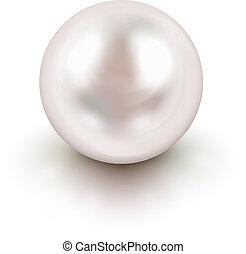 perla, blanco