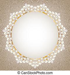 perla, cornice