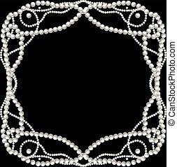 perla, decoración
