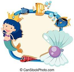Jsme zde s nejromantičtějším a nejtragičtějším mořským panenským milostným příběhem.