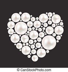 perla, nitro, grafické pozadí., vektor, ilustrace