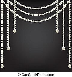 perla, výzdoba