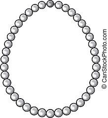 perle náhrdelník