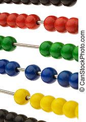 perline, abbaco, colorato