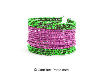 perline, braccialetto