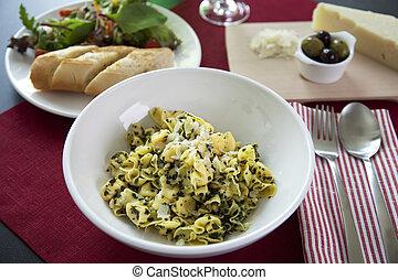 Perline pasta dinner