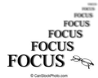 permanecer, foco