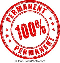 Permanent vector stamp