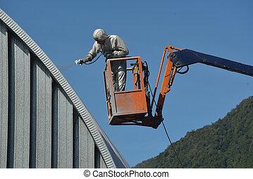 permetezés, tető