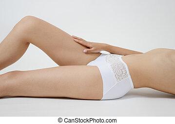 perna mulher