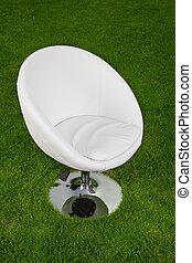 perno, cuoio, verde, disegno, bianco, erba, sedia
