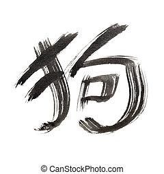 perro, chino, character:
