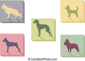 perros, icono