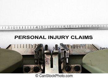 persönlich, anspruch, verletzung