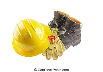 persönlich, ausrüstung, schützend