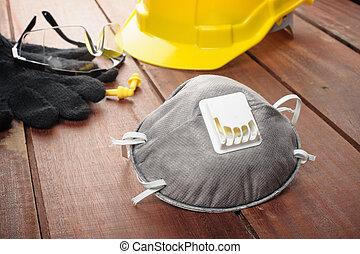 persönlich, ausrüstung, sicherheit