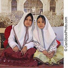 persa, niñas