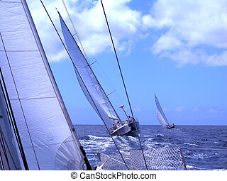 persecution - sailing in ocean