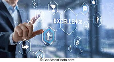 perseguição, concept., 2021., excelência, negócio