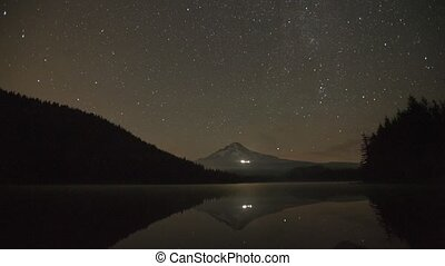 Perseid Meteor Shower in Oregon