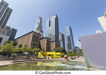 Pershing Square Park Downtown Los Angeles