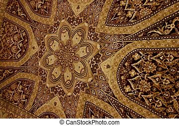 Persian rug - Brown persian rug