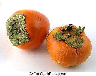 Hyakume & Fuyu persimmons