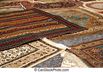 persisch, teppich