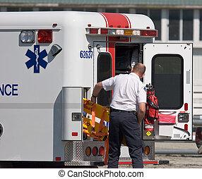 person med paramedicinsk utbildning