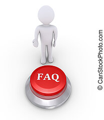 Person offers the FAQ button
