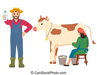 lady cow vector clip art illustrations 243 lady cow