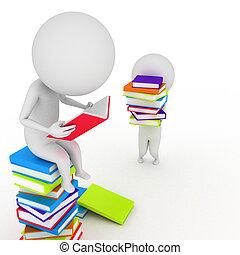 persona común, lectura, libros