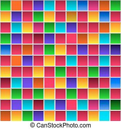 persona de color de arco iris, colorido, patrón, infantil, ...