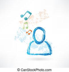 persona, grunge, musica, icona