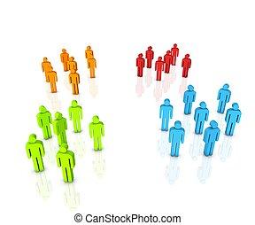 persona, gruppo