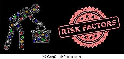 persona, risque, filet, acheteur, timbre, détresse, cachet, ...